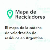 mapa de recicladores