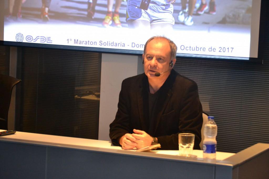 Sergio Elguezabal en Santiago del Estero