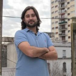 Enrique Maurtua Konstantinidis en sabado verde
