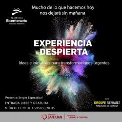 Sergio Elguezabal presenta Experiencia Despierta San Juan